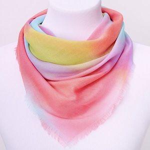 🌈3/$20~CLAIRE's Rainbow Tie Dye Scarf